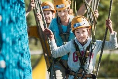 Abenteuersport im Sommerurlaub in Flachau