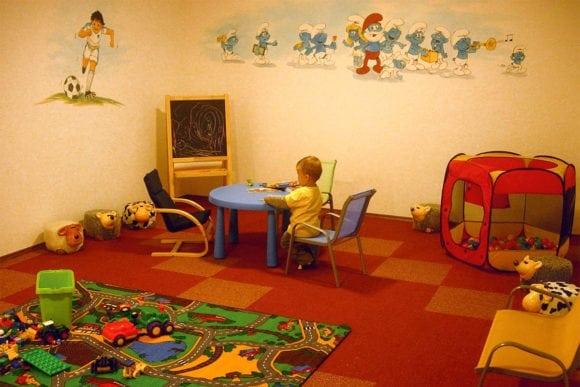 Kinderspielraum am Fingerhof in Flachau, Bauernhofurlaub im Salzburger Land