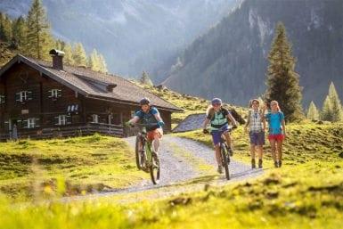 Mountainbiken im Sommerurlaub in Flachau