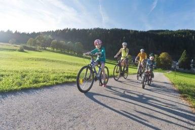 Radfahren im Sommerurlaub in Flachau
