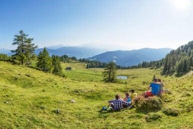 Wandern im Sommerurlaub in Flachau