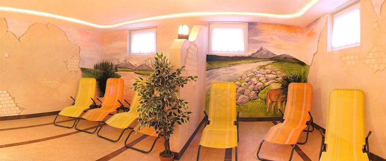 Wellnessbereich am Feriengut Fingerhof in Flachau