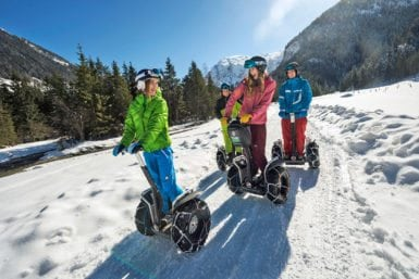 Actionsport im Winterurlaub in Flachau, Salzburger Land